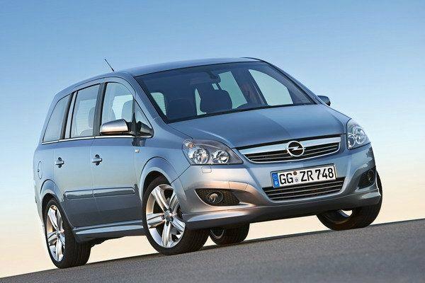 Opel Zafira 外觀圖片