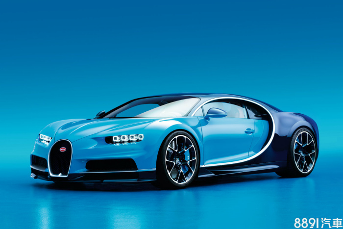 Bugatti Chiron 外觀圖片