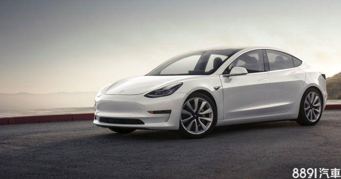 Tesla Model 3 外觀圖片