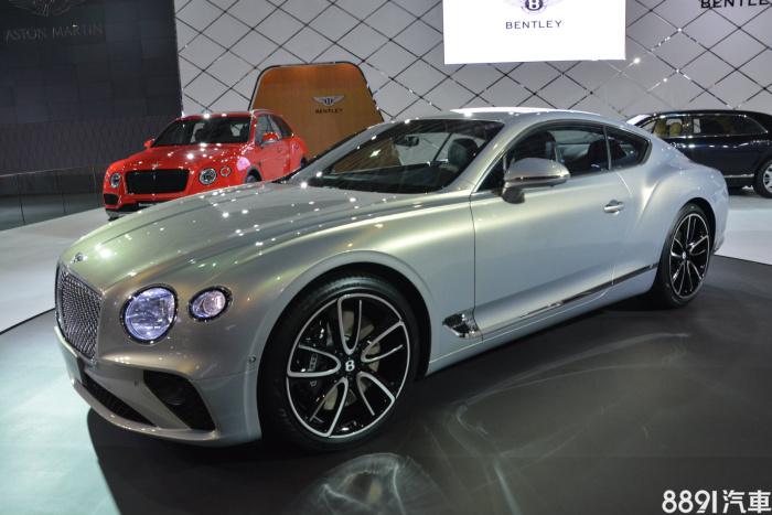 Bentley Continental GT 外觀圖片