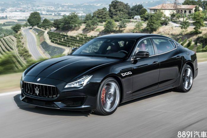 Maserati Quattroporte 外觀圖片